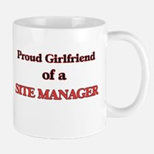 Proud Girlfriend of a Site Manager Mugs