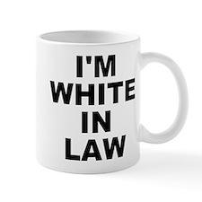 I'm White In Law Small Mug Mugs