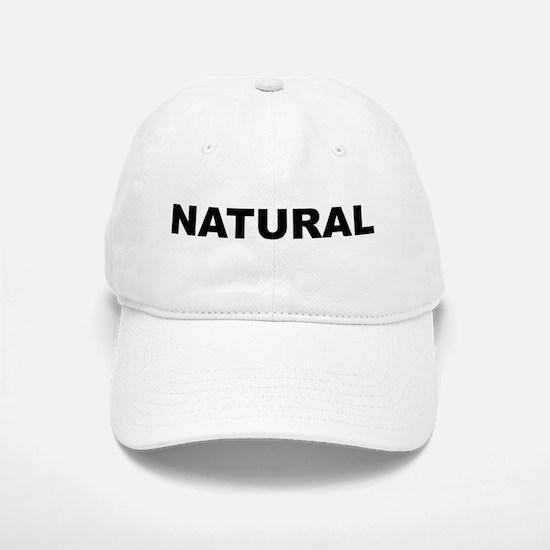 Natural Baseball Baseball Cap