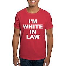 I'm White In Law Men's T-Shirt