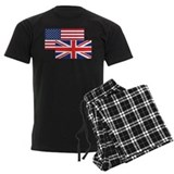 British Men's Dark Pajamas