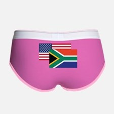 American And South African Flag Women's Boy Brief