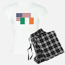 American And Irish Flag Pajamas