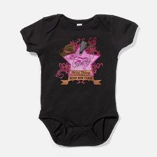 Cute Horse girl Baby Bodysuit