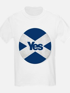 Yes to an Indepedent Scotland 'Saor Alba G T-Shirt