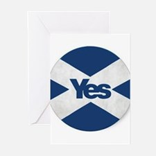 Yes to an Indepedent Scotland 'Saor Greeting Cards