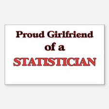 Proud Girlfriend of a Statistician Decal