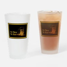 Let There Be Beer Drinking Glass