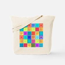 Colorful Retro Tote Bag