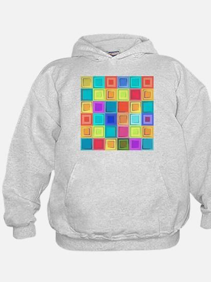 Colorful Retro Hoodie