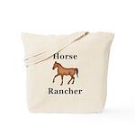 Horse Rancher Tote Bag