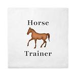 Horse Trainer Queen Duvet