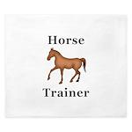 Horse Trainer King Duvet