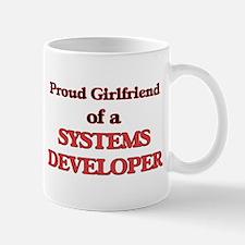 Proud Girlfriend of a Systems Developer Mugs