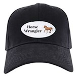 Horse Wrangler Black Cap