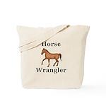 Horse Wrangler Tote Bag