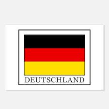 Deutschland Postcards (Package of 8)