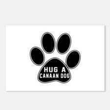 Hug A Canaan Dog Dog Postcards (Package of 8)