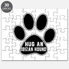 Hug An Ibizan Hound Dog Puzzle