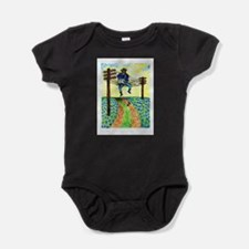 Girdners Waylon on the Wire Baby Bodysuit