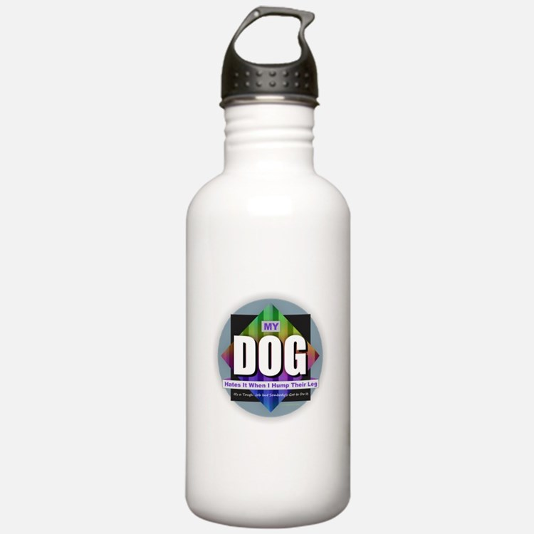 Dog Hates Humping Water Bottle