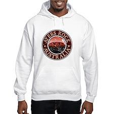 Ayers Rock, Australia Hoodie Sweatshirt