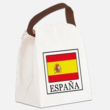 Cute Espana Canvas Lunch Bag