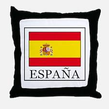 España Throw Pillow