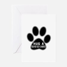 Hug A Bouvier Des Flandr Greeting Cards (Pk of 20)