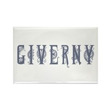 Giverny Rectangle Magnet