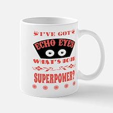 Echo Eyes Superpower Coral Small Small Mug