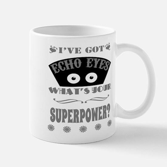 Echo Eyes Superpower Gray Mug
