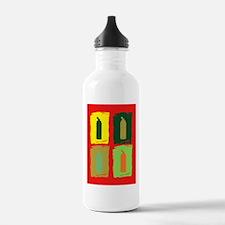 Gellin' Orge Backgrd N Water Bottle