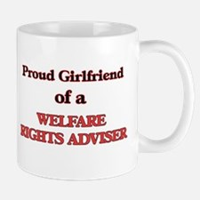 Proud Girlfriend of a Welfare Rights Adviser Mugs