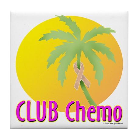 Club Chemo - Uterine Tile Coaster