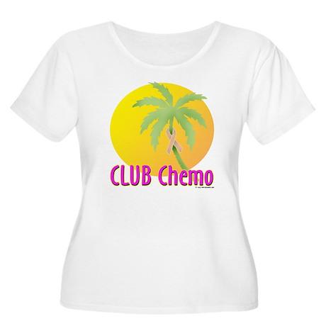 Club Chemo - Uterine Women's Plus Size Scoop Neck