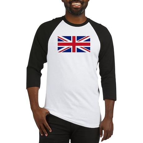 British Flag Baseball Jersey