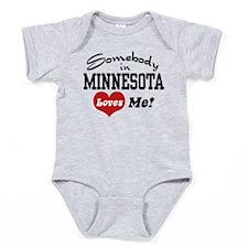 Unique Minnesota Baby Bodysuit