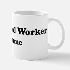 Pest Control Worker costume Mug