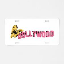 Bollywood Aluminum License Plate