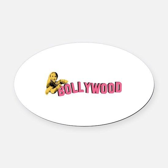 Bollywood Oval Car Magnet