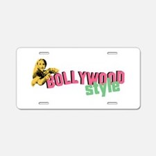Bollywood Style Aluminum License Plate