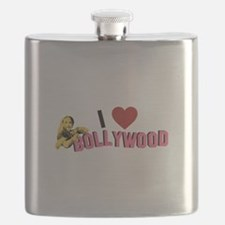 I Love Bollywood Flask