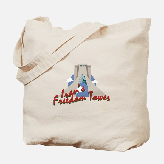 Irans Freedom Tower Tote Bag