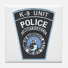 Nantucket Police K-9 Tile Coaster