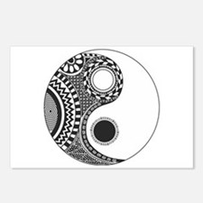 Yin Yang Postcards (Package of 8)