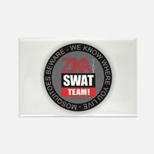 Zika Virus Swat Magnets