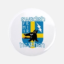 Swedish Heathen Button