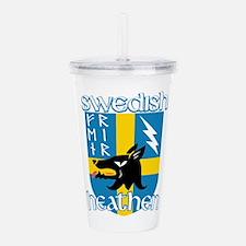 Swedish Heathen Acrylic Double-wall Tumbler