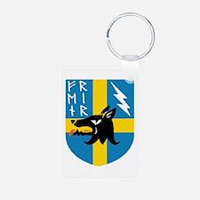 Fenrir Runes Crest Keychains